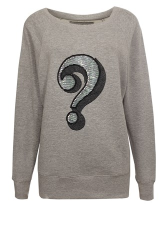 Question Mark Raglan Sweatshirt