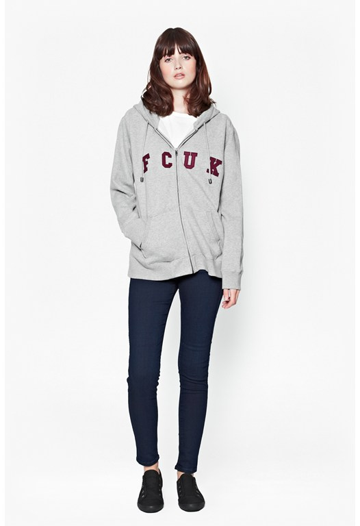 Pipa Sweats FCUK Zip-Up Hoody