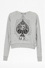 Looks Great With Ace of Spades Sweater