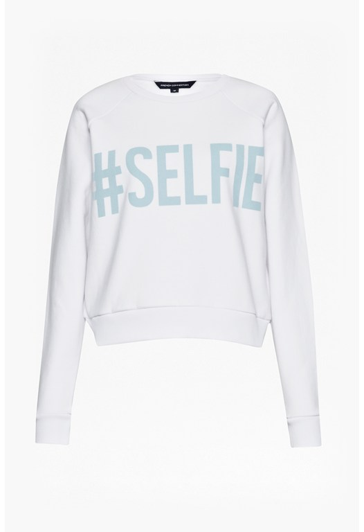 Es Selfie Sweat Roundneck Jumper