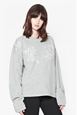 Looks Great With Paisley Dazzle Sweater