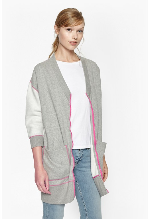 Pip Pip Oversized Zip Thru Sweat