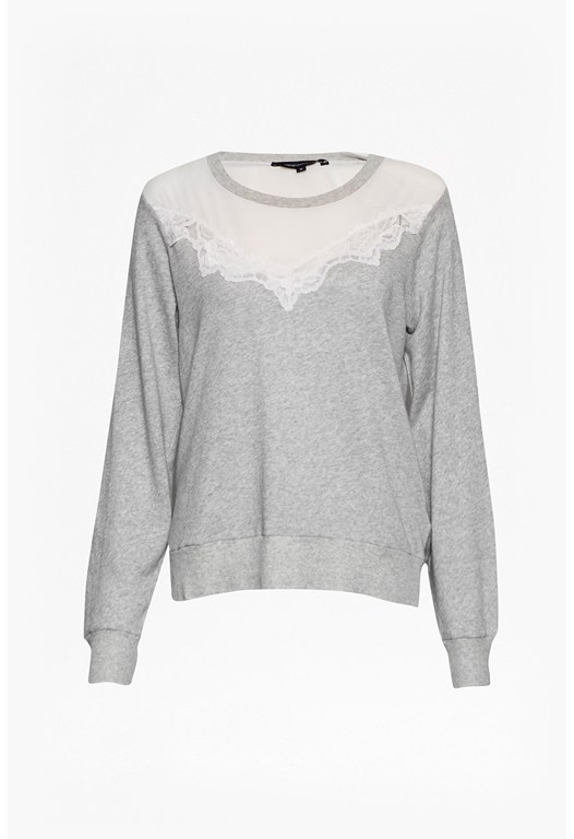 Summer Ditton Lace Sweatshirt