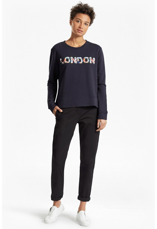 Toyen London Embellished Sweatshirt