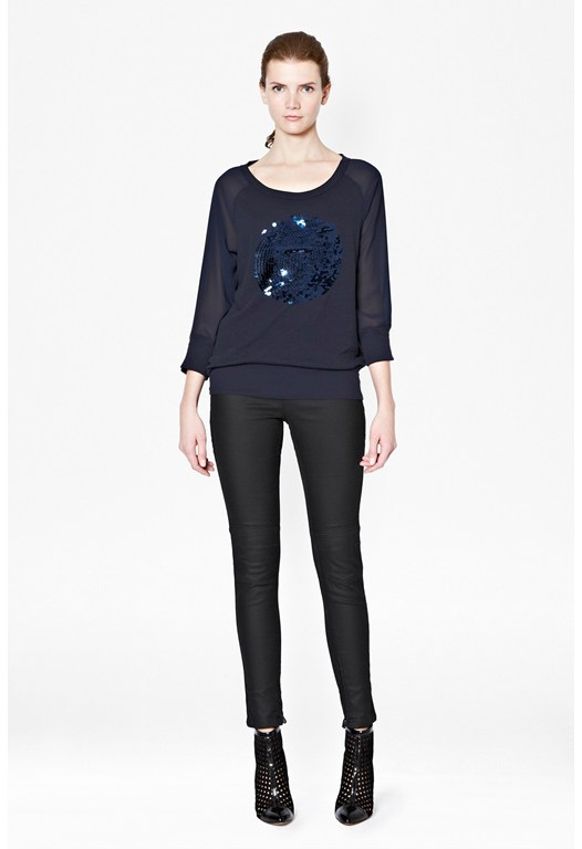 Sequin Spot Ditton Sweatshirt