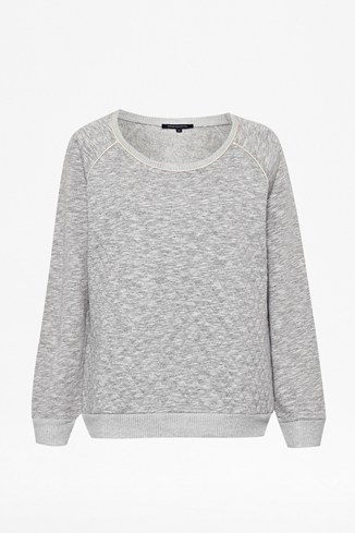 Suzie Quilted Sweater