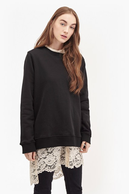 Summer Pop Zipper Sweatshirt