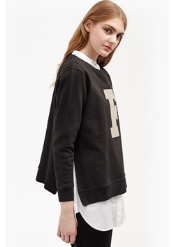 F Zip Graphic Sweatshirt