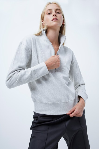 Ota Sundae Sweat Zip Front Jumper