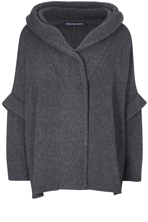 Miranda Knits Hooded Cardigan