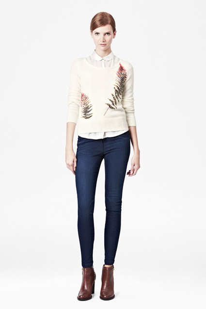 Fern Printed Jumper