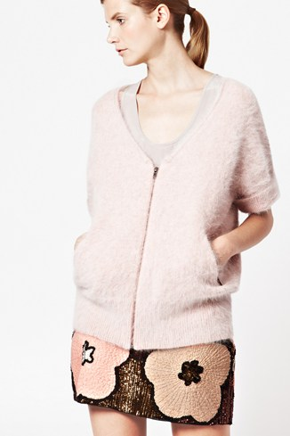 Kitten Knitted Angora Cardigan