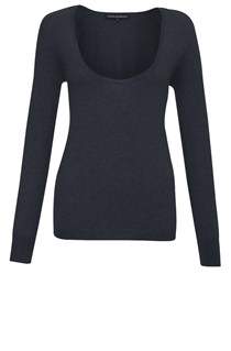 Belle Knits Scoop Neck Jumper