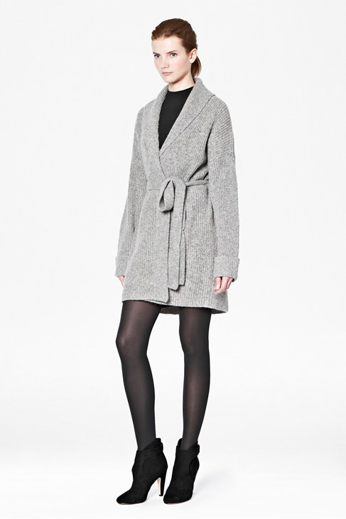 Tweed Oversized Cardigan
