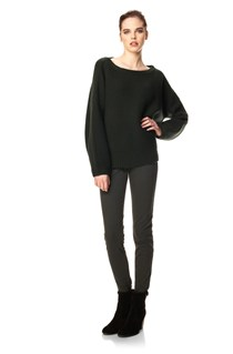 Scandi Knits Slash Neck Jumper