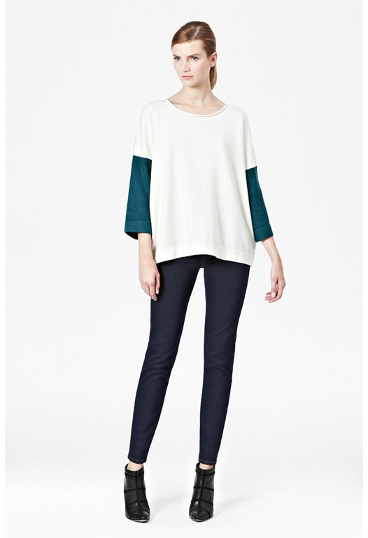 Vhari Block Colour Knits Jumper