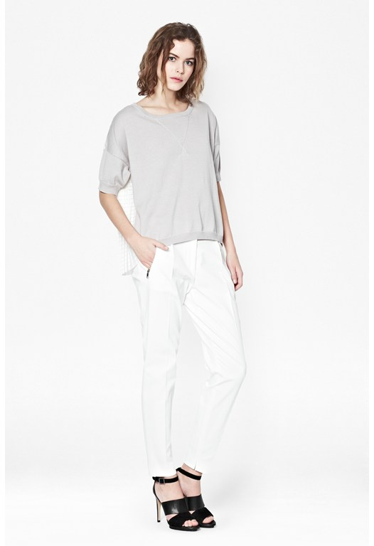 Pixel Cotton Jumper