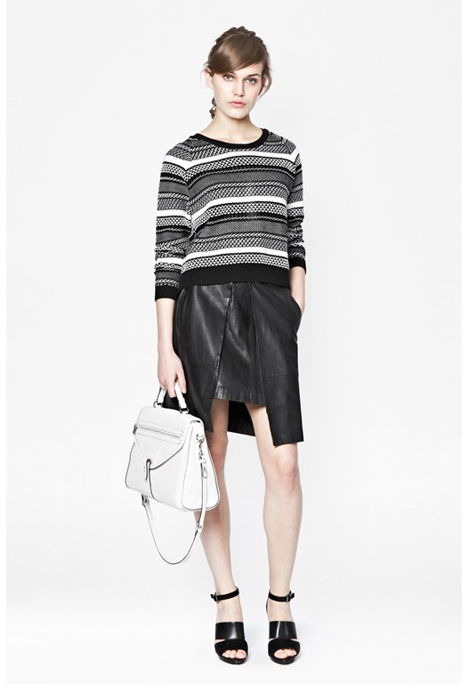 Promise Knit Striped Jumper