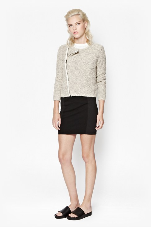 Audrey Zip-Through Cardigan