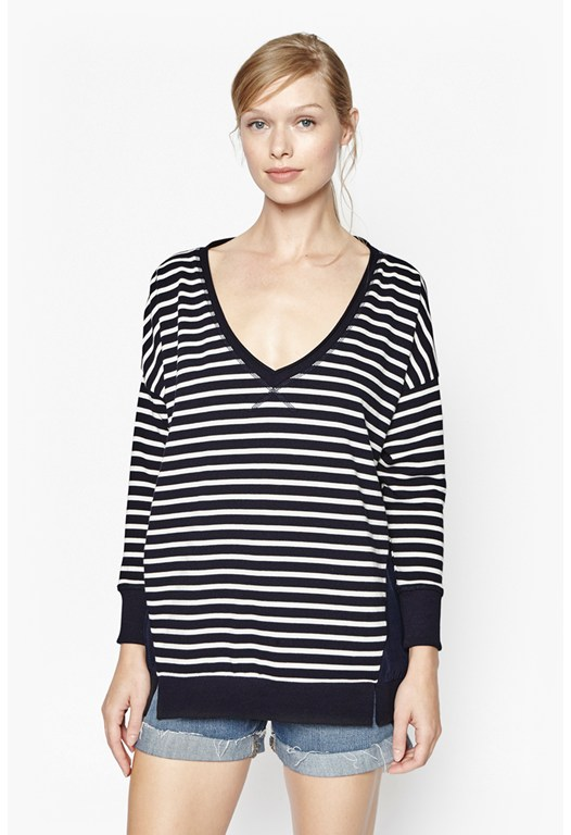 Check Mate Stripe Jumper