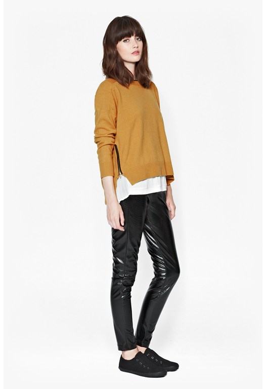 Autumn Vhari Neck Detail Jumper