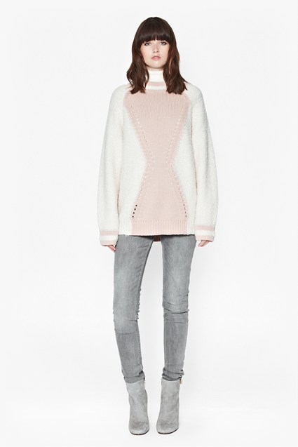 Hester High Neck Jumper