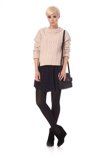 Ashley Knits Slit Jumper