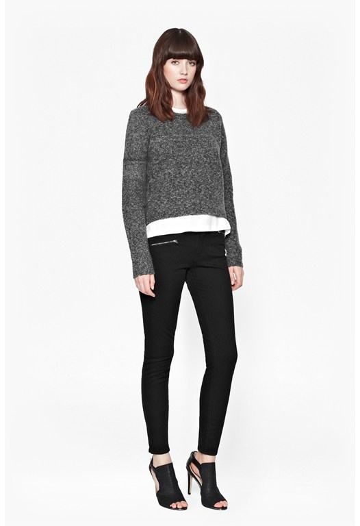 Rsvp Knits Cropped Jumper