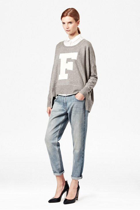 Vhari Knitted F Jumper