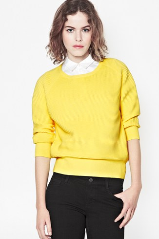 Summer Mozart Ribbed Jumper
