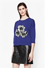 Looks Great With Eddie Pop Intarsia Jumper