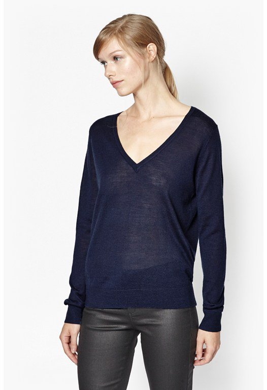 Jupiter Knits V-Neck Jumper