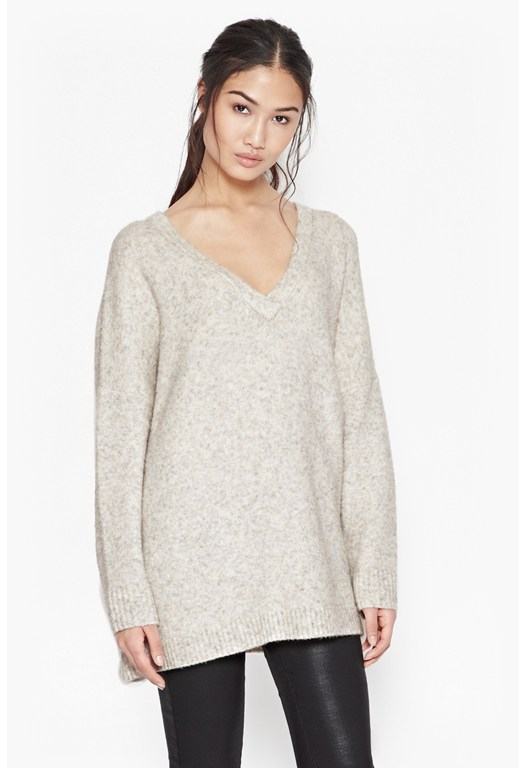 Flossy Knitted Jumper