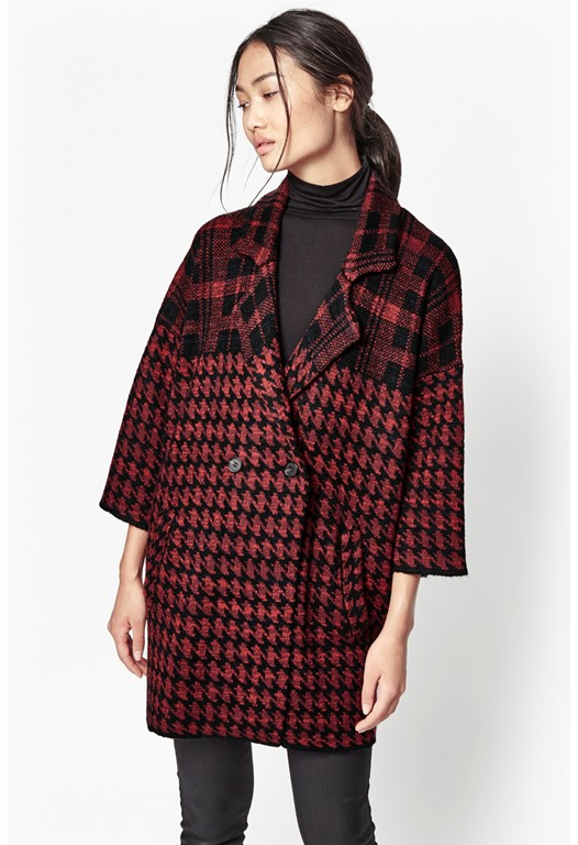 Dogtooth Oversized Coatigan