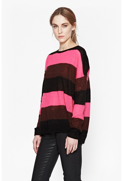Electric Striped Jumper