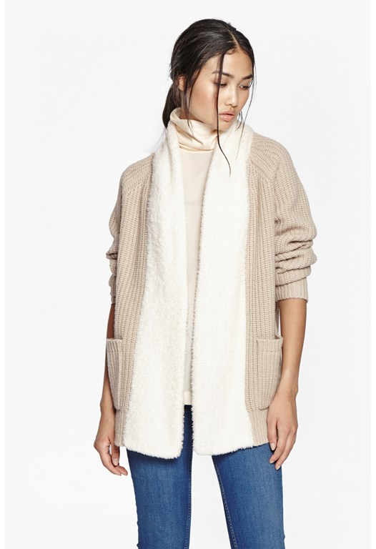 Flying Knits Oversized Cardigan
