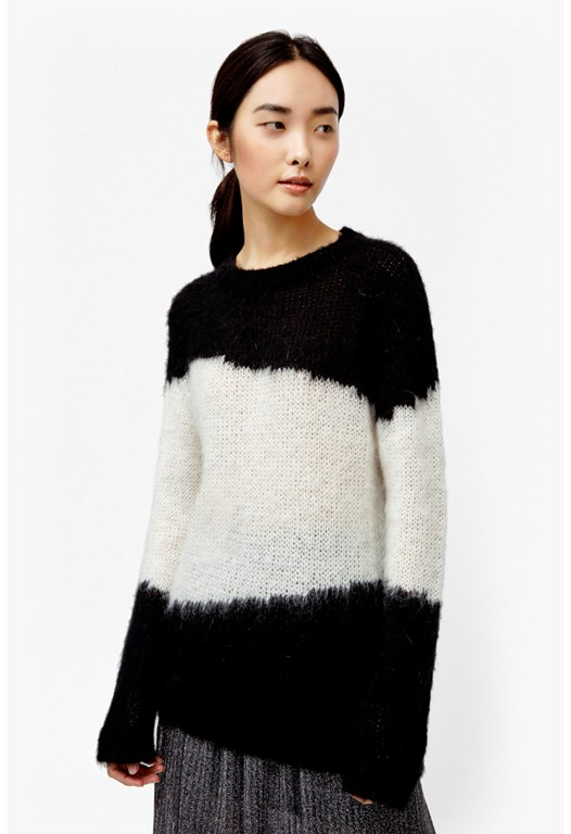 Brushed Punk Mohair Jumper