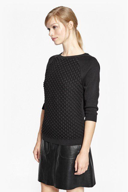 Audrey Textured Knit Jumper
