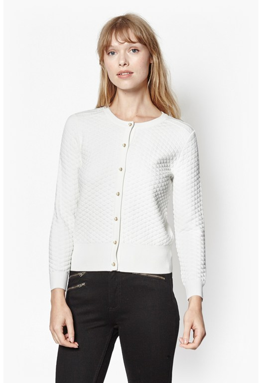 Tiffany Quilted Cardigan