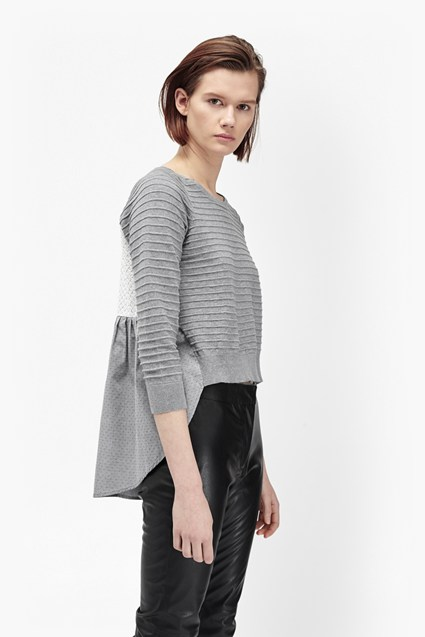 Effie Long Sleeve Textured Knit