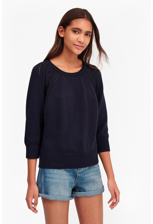 Moonlight Mozart Shoulder Detail Jumper