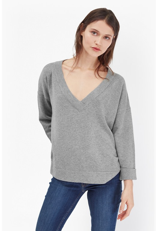Soft Mist Boxy Knit