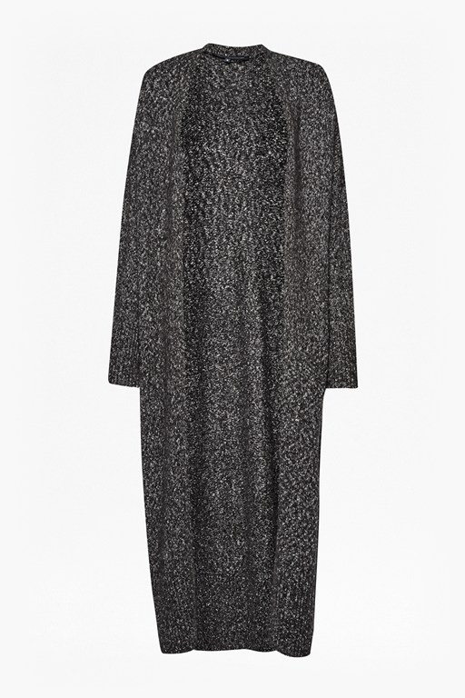 Complete the Look Flecked Flora Maxi Cardigan