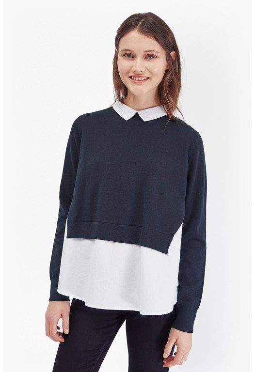 Florence Knits Shirt Jumper