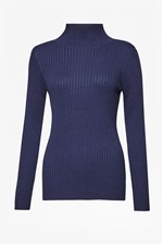 Looks Great With Bambino Rib High Neck Jumper