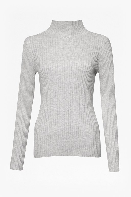 Complete the Look Bambino Rib High Neck Jumper