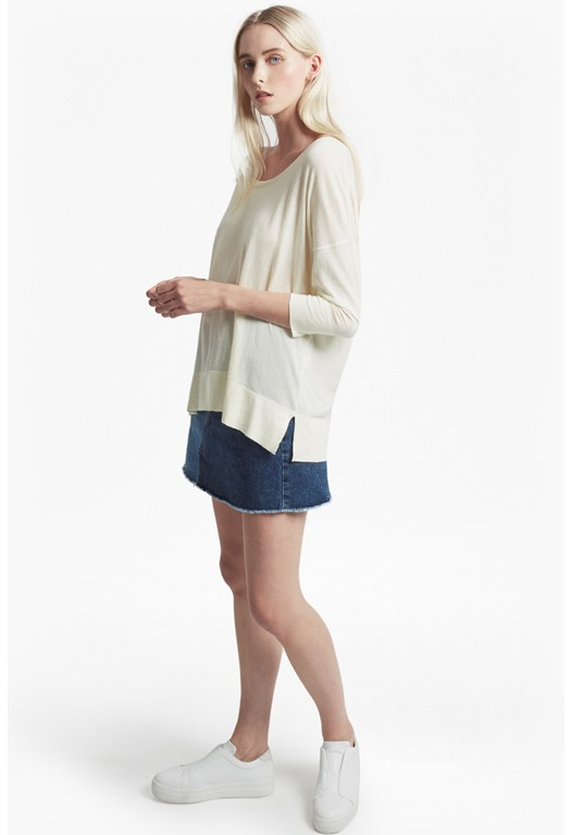 Spring Light Knits Lyocell Jumper