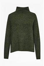 Looks Great With Autumn Flossy Knits High Neck Jumper