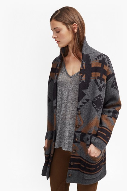 Lake Knit Oversized Coatigan