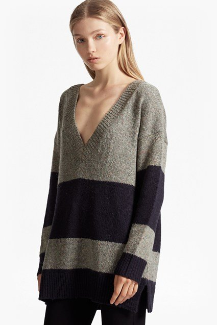 Alice Nep Knit Stripe Jumper